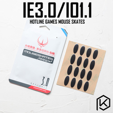 Hotline games 2 sets/pack competition level mouse feet skate