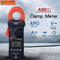 Multimeter Digital Clamp Meter DC/AC 600A Voltmeter Current Meter Resistance Capacitance Tester A901