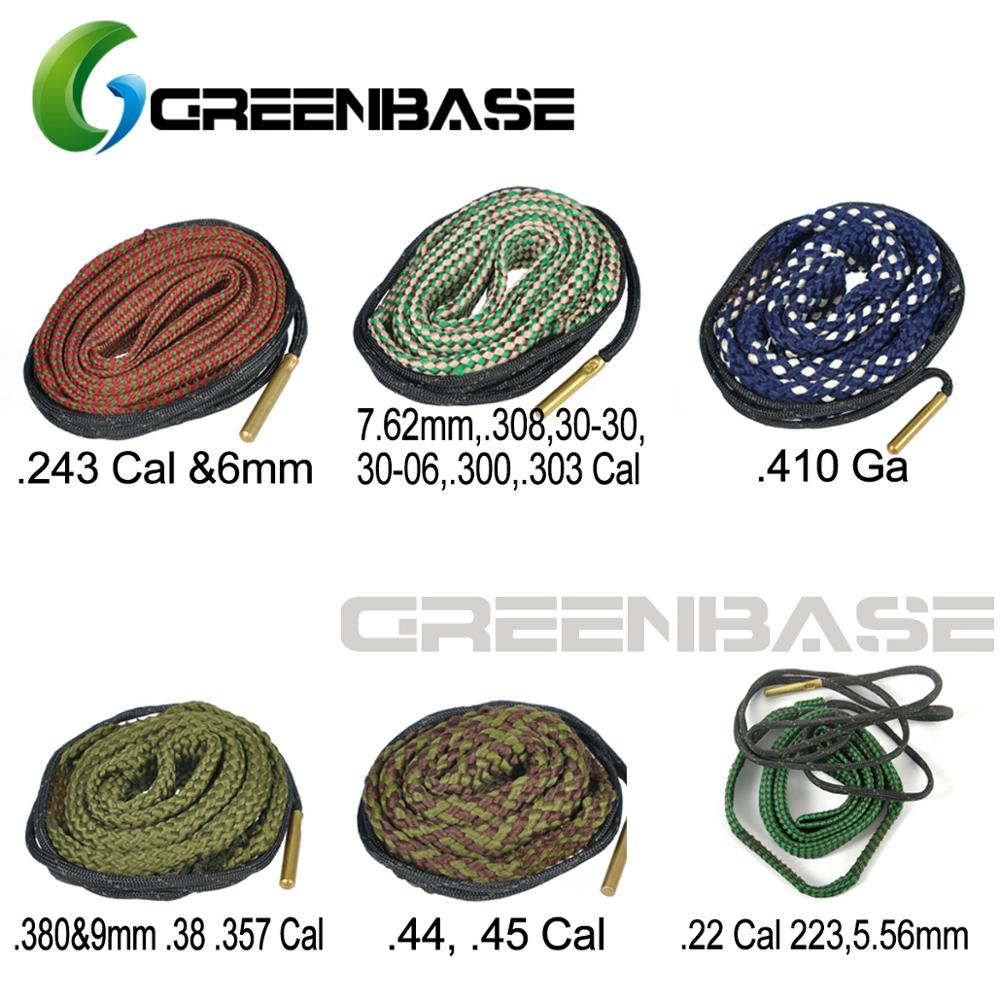 Gun Cleaner Hunting Bore Snake .22 Cal .243 Cal .308, .380, 5.56mm 6mm 7.62mm 9mm Rifle Pistol Cleaning Kit Boresnake