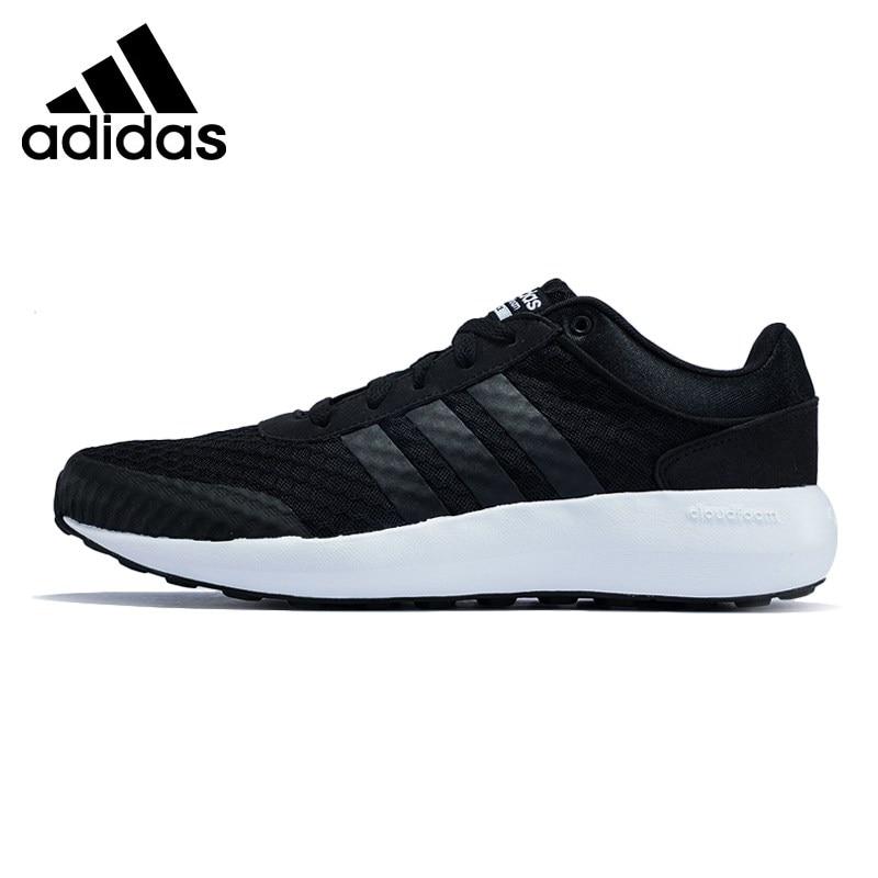 Original New Arrival 2017 Adidas NEO Label CLOUDFOAM RACE Men's Skateboarding Shoes Sneakers adidas original new arrival official neo women s knitted pants breathable elatstic waist sportswear bs4904