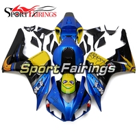Complete Fairings For Honda CBR 1000 RR 2006 2007 06 07 Injection ABS Motorcycle Fairing Kit Bodywork Cowling Blue Yellow Panel