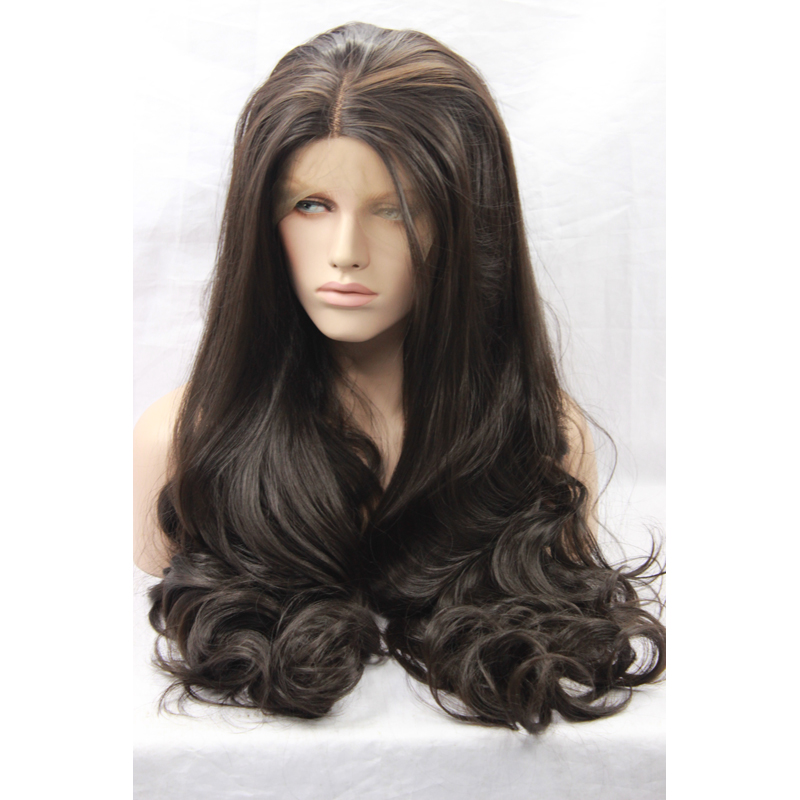Realistic Synthetic Lace Wigs Colorful Cheap Wigs