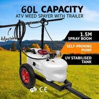 В 12 В ATV Спот гербицидный опрыскиватель Танк 1,5 м стрелы и прицепы 60L майки для сада или фермы