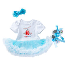 ARLONEET 2019 newst baby dress Fashion 3PCS Toddler Newborn Baby Girls Princess Easter Rabbit Tutu Dress Outfits Set Z0208(China)