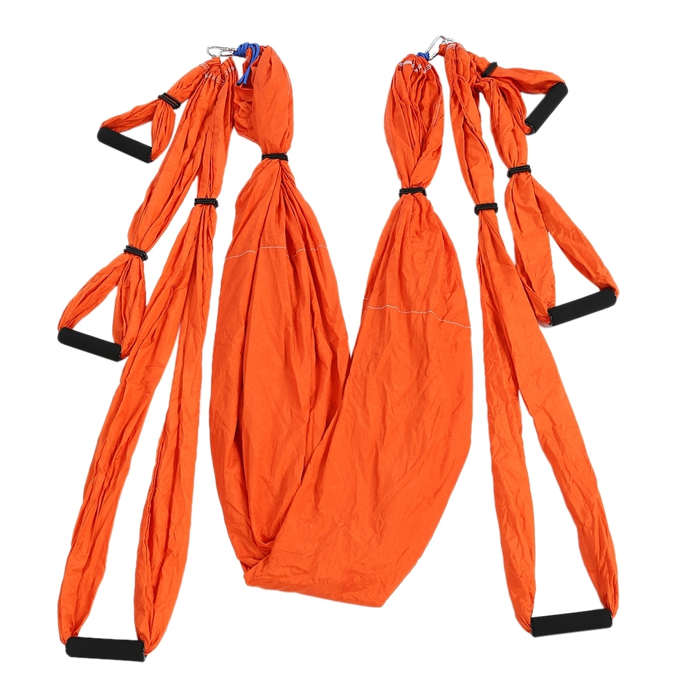Lekexi Decompression Swing Sling Inversion Anti-gravity Aerial Yoga Hammock 5 2 8m aerial anti gravity yoga hammock high altitude sling stretch belt yoga strap yoga accessories