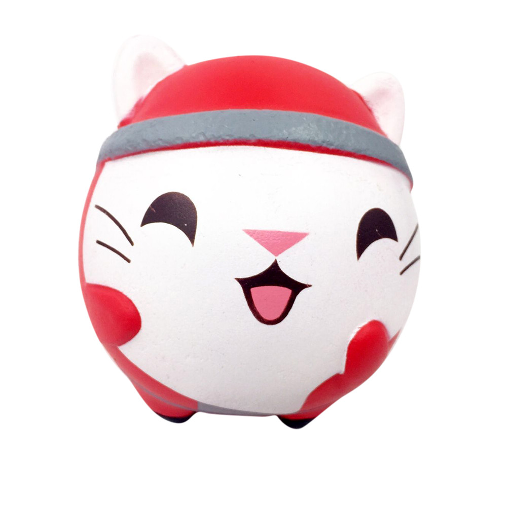 HIINST Exquisite Christmas Cute Cat Scented Squishy Charm Slow Rising 13cm Simulation Kids Toy p30 MAY16 dropshipping