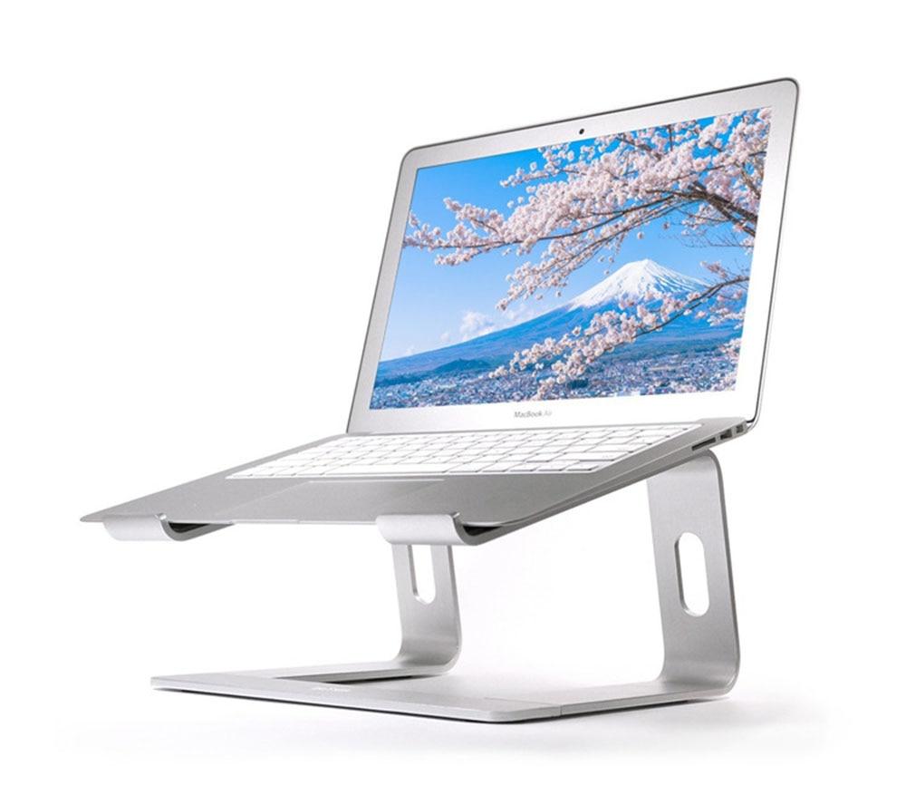 Image 2 - Подставка для ноутбука LARICAR, Алюминиевая Подставка для  MacBook, Портативная подставка для ноутбука, Настольный держатель,  подставка для ноутбука, компьютераПодставка для ноутбука   -