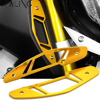 For YAMAHA MT09 MT-09 MT 09 FZ 09 fz09 FJ09 2014 2015 2016 Motorcycle Accessories Air Intake Grill Guard Cover Protector for yamaha mt09 mt 09 fz09 fz 09 mt 09 2014 2016 motorcycle radiator protective cover guards radiator grille cover protecter