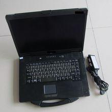 Work for mb star c4/mb star c5/for bmw icom a2 b c diagnostic PC for panasonic cf-52 toughbook top military laptop 2gbram