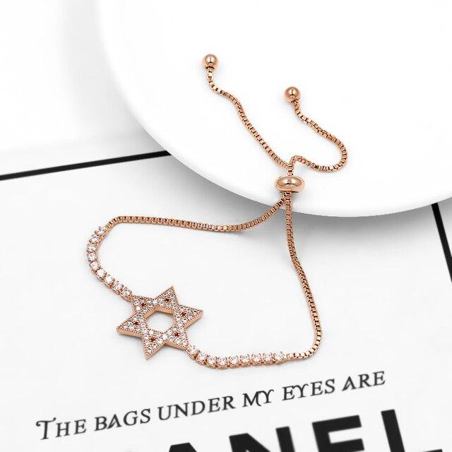 bracelet pour Mariage de Charme Étoile  de  David  4