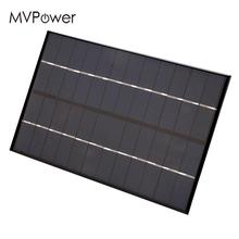 4.2W 12V Solar Panel Charger Board Power Bank Pack Silicon Portable Compact DIY