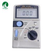 Verificador portátil YF-509 da resistência 250/500/1000 v da isolação de digitas