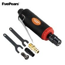 Fivepears mini moedor de ar ângulo morrer kit ferramentas pneumáticas moagem ar conjunto 25000 rpm ferramentas ar moedor pneumático
