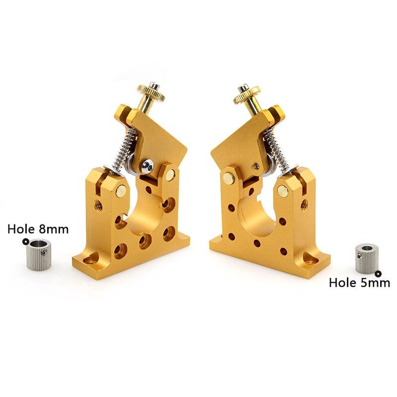 3D printer Reprap Kossel prusa i3 bowden 42 stepper motor full metal remote extruder Bore 5mm