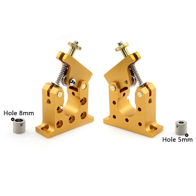 3D printer Reprap Kossel bowden 42 stepper motor full-metal remote extruder Bore 5mm/8mm