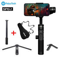 FeiyuTech SPG2 3-Axis Handheld Stabilizer Gimbal for iPhone XS X Max Smartphone OPPO Samsung S9 ViVO PK DJI Osmo Zhiyun Smooth 4