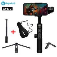 FeiyuTech SPG2 3-Axis Handheld Stabilizer Gimbal for iPhone XS X Max Smartphone OPPO Samsung S9 ViVO PK DJI Osmo Zhiyun Smooth 4