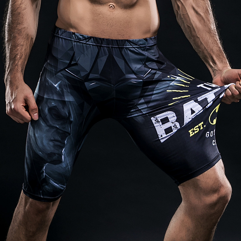 Beach   Board     Shorts   Mens Summer Jogger   Shorts   Plus Compression   Shorts   Skinny Bodybuilding   Shorts   Man Pantaloncini Fitness Uomo