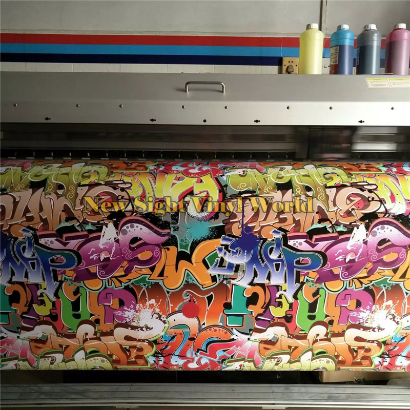 UDM Sticker Bomb Car Vinyl Wrapping Film For Car Sticker Air Bubble Free Size:1.50*30m/Roll