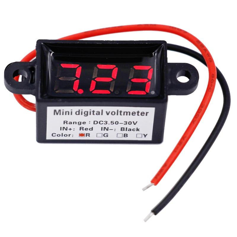 voltmetro hidroizoliacinis smūgis, atsparus smūgiams 3,5–30 V - Matavimo prietaisai - Nuotrauka 6