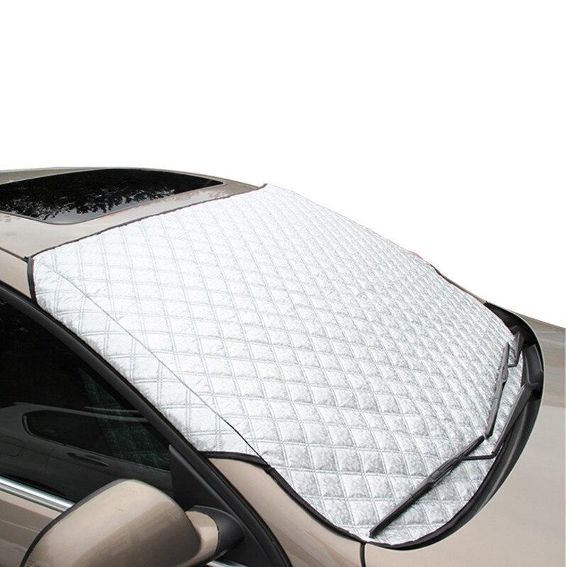 Auto Sonnenschutz Deckt Frontscheibe Sonnenschutz Anti Schnee Auto Abdeckung Sonne Reflektierende Schatten Windschutzscheibe Für SUV Und Gewöhnlichen Auto Y1
