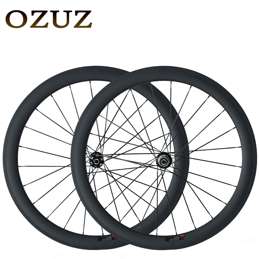 Free Custom Factory Sales Disc Brake Hub Carbon Wheels 38mm 50mm Cycling Carbon Wheelset Clincher 23mm Width 700C Bike Wheel 700c which spoke carbon wheels t700 v sprint carbon wheels 50mm carbon wheel with 20 5mm width d and t350hub