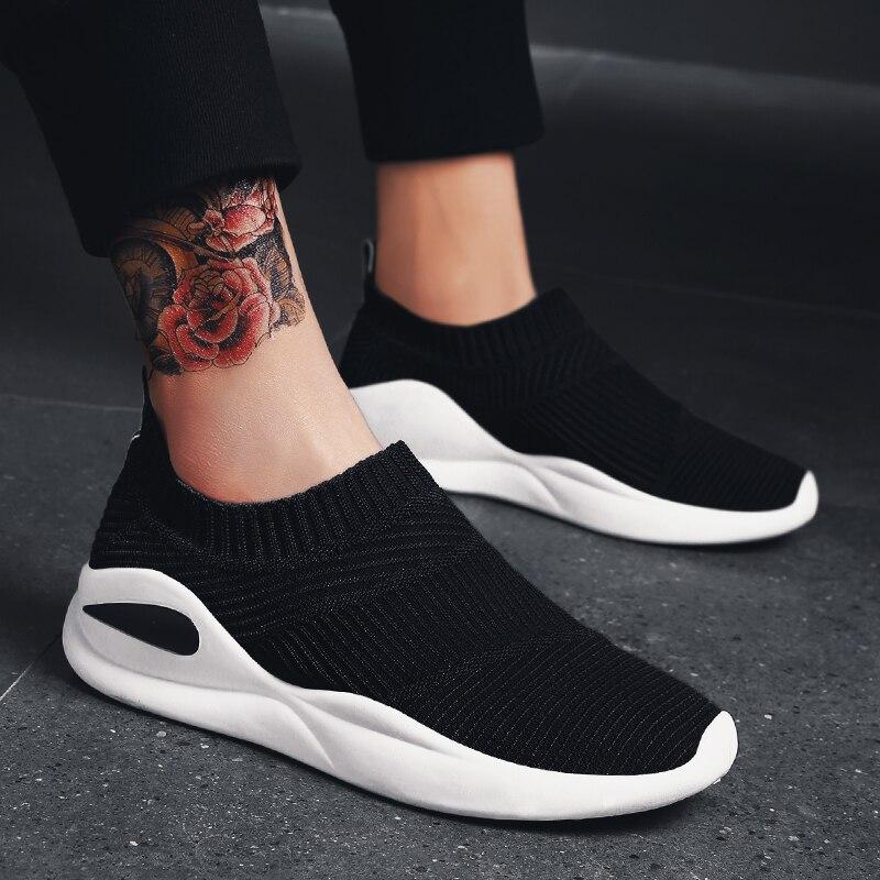 Summer Brand Running Shoes Men Socks Sneaker Sport Athletic Breathable Mesh Trainers Man Comfortable Super Light Slip-on Loafers Underwear & Sleepwears