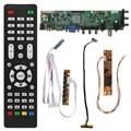 V56 V59 Универсальный ЖК-драйвер платы DVB-T2 ТВ доска + 7 ключ переключатель + IR + 1 лампа Инвертор + LVDS кабель комплект 3663