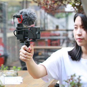 Image 5 - Ulanzi PT 7 Vlog support de barre de montage dextension avec chaussure froide 1/4 vis pour LED vidéo lumière Microphone Gopro Vlog montage