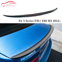 F30 M performance Carbon Fiber Rear Spoiler Wing for BMW 3 Series F30 320i 328i 330i 335i & M3 F80 4 door Sedan 2012 +|Spoilers & Wings|   -