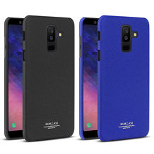 100% Original IMAK Quicksand Case For Samsung A6 +(2018) style Frosted Shield Matte Cover For A6+(2018) Phone Case A6 Plus(2018)(China)