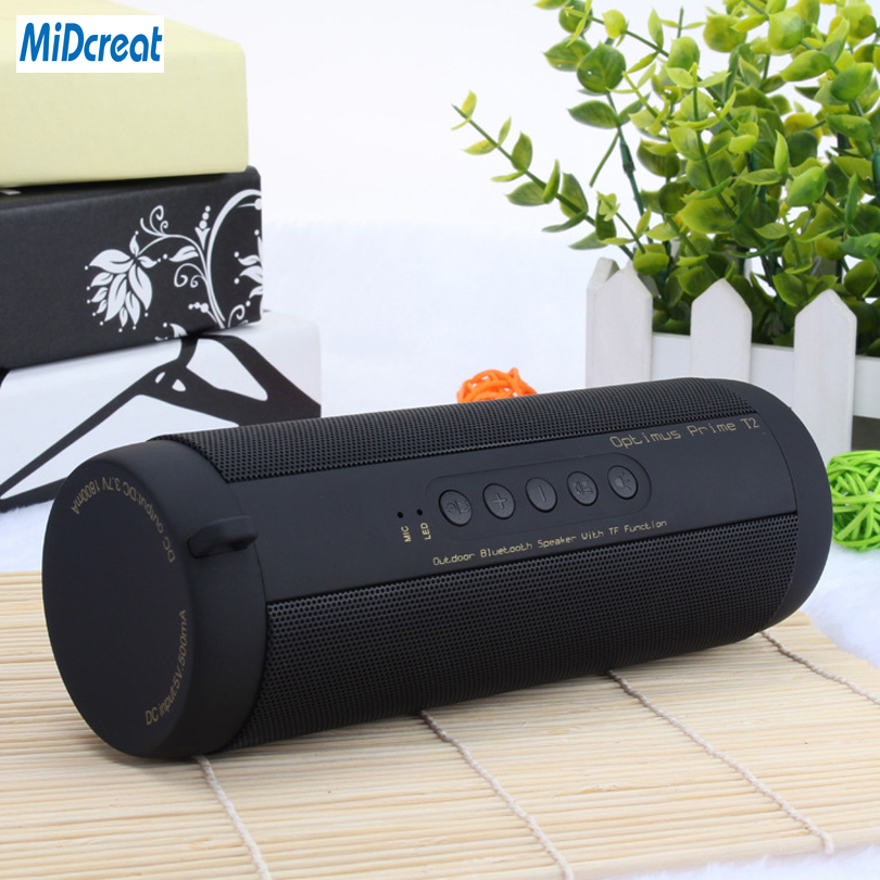 Waterproof Bluetooth Speaker Wireless Super Bass Subwoofer Outdoor Sport Sound Box FM LED Light Portable Speaker Stereo Speaker