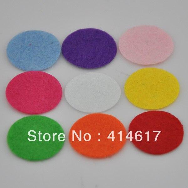 Войлок 25 мм Круг Аппликации-Mix Бесплатная доставка выбрать цвет F09