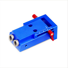 14 Pcs 15 Degree Wood Guide Locator Kit 6/8/10mm Hole Bit Template Fixture Simple inclined hole locator _WK