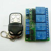 12ボルト4chリレーモジュール多機能ワイヤレスリモートrf遅延時間タイマースイッチ315 mhz
