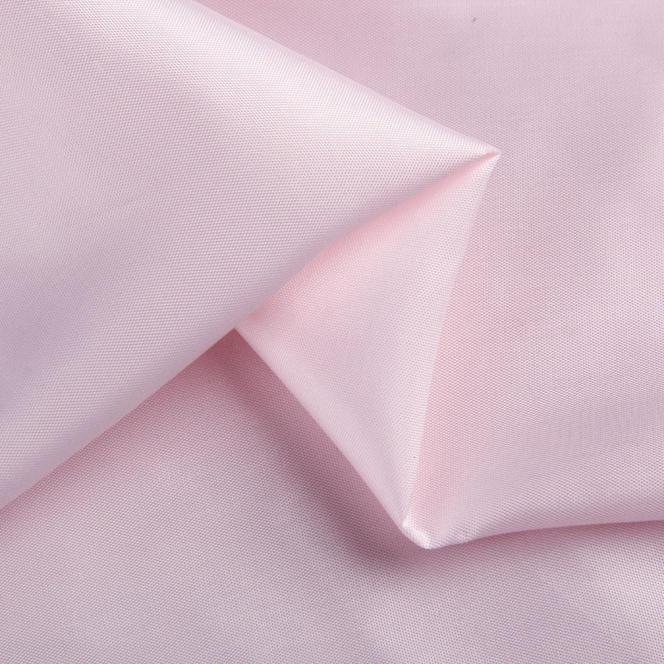 Pale pink semi cotton jacket coat antistatic lining fabric
