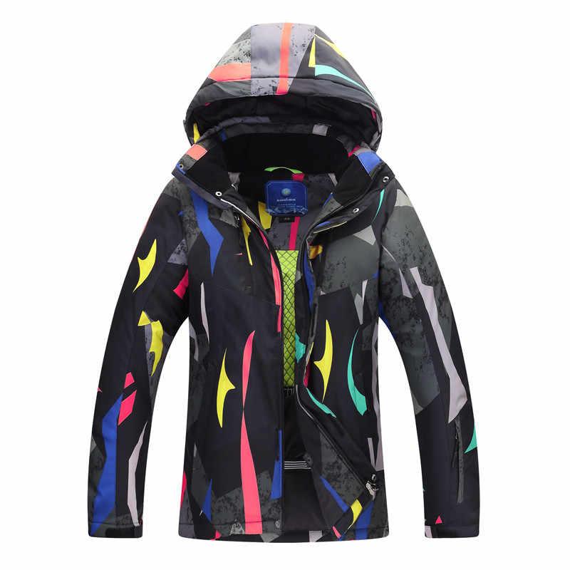 2019 フル新外国貿易の男性の肥厚スキースーツ防風防滴生地暖かい通気性のシングルとダブル板の雪