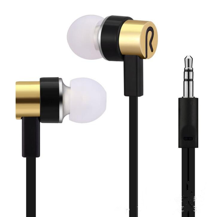 3.5mm In ear headset stereo earphone without microphone  for all phone mp3 headphone high quality in ear headset stereo earphone music headphone without microphone