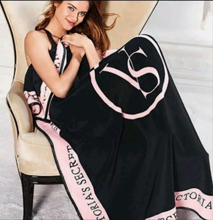 Brand Throw Blanket Pink VS Secret Blanket Coral Flannel Fleece Travel Plaid Victoria TV Blanket sofa bed cover Swaddle Sleeper