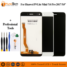 5.0'' New For Huawei P9 Lite Mini Full LCD DIsplay + Touch Screen Digitizer Assembly With Frame Black / White / Gold 100% Tested