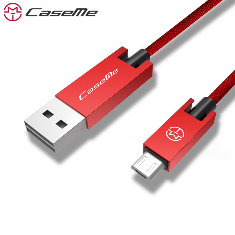 CaseMe Micro USB Cable Fast Charging Mobile Phone Android Cable USB Charger Date Sync Cable Wire For Samsung Sony Xiaomi LG ZTE