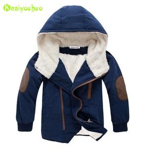 Image 1 - เด็กเสื้อแจ็คเก็ต2020ฤดูหนาวแจ็คเก็ตแจ็คเก็ตเด็กHooded Warm Fur Outerwearเสื้อสำหรับชายเสื้อผ้าวัยรุ่น8 10 11 12ปี