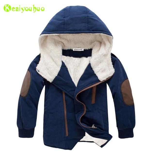 เด็กเสื้อแจ็คเก็ต2020ฤดูหนาวแจ็คเก็ตแจ็คเก็ตเด็กHooded Warm Fur Outerwearเสื้อสำหรับชายเสื้อผ้าวัยรุ่น8 10 11 12ปี