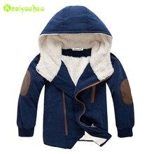Chaqueta de invierno con capucha para niños, abrigo cálido de piel, ropa para adolescentes, 8, 10, 11 y 12 años, 2020
