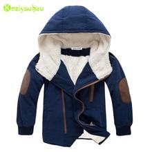 Children Jacket 2020 Winter Jacket For Boys Jacket Kids Hooded Warm Fur Outerwear Coat For Boys Teenage Clothing 8 10 11 12 Year
