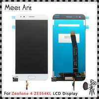 DHL 10 unids/lote alta calidad 5,5 ''para ASUS Zenfone 4 ZE554KL pantalla LCD con montaje de digitalizador con pantalla táctil