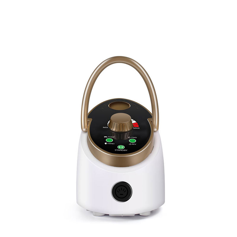 Высококлассная электрическая дрель для ногтей 35000 об/мин 65 Вт маникюрная машина для дизайна ногтей Гель лак с керамическим сверлом для ногт