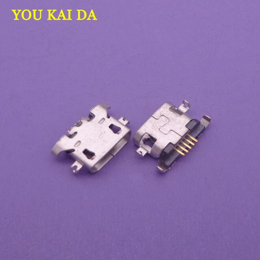 10-30pcs micro mini usb Charging port jack socket Connector for Lenovo A319 A536 A6000 A6000T A6010 Vibe A859 P2 P2C72