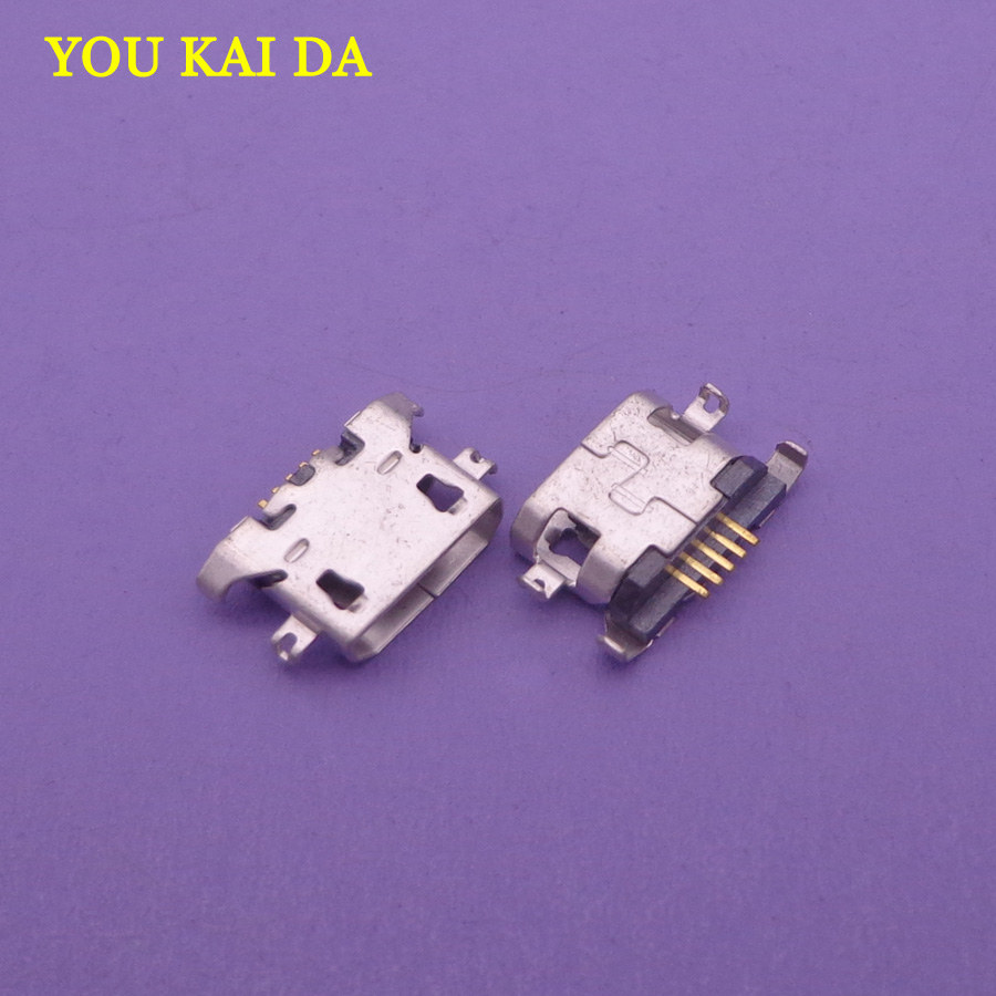 50pcs Micro usb charge charging charger connector for lenovo Vibe Z2 Z2w K3 note K50-<font><b>T5</b></font> K3 K30-T K30-W S90 s920t S920U <font><b>plug</b></font> dock image