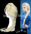 New decorative Princess Snow Queen Elsa cosplay wig Kanekalon COS body COS Harajuku made Kanekalon Cosplay hair wigs
